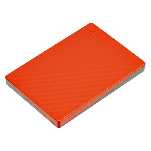 Фото - Внешний жесткий диск WD My Passport WDBYVG0020BRD-WESN, 2ТБ, красный внешний жесткий диск wd my passport wdbuax0020brd eeue 2тб красный