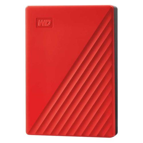 Фото - Внешний жесткий диск WD My Passport WDBPKJ0040BRD-WESN, 4ТБ, красный внешний жесткий диск wd my book wdbbgb0040hbk eesn 4тб черный