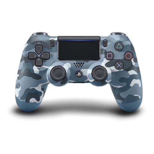Геймпад Беспроводной PLAYSTATION Dualshock 4, Bluetooth, для PlayStation 4, синий камуфляж [ps719726111]