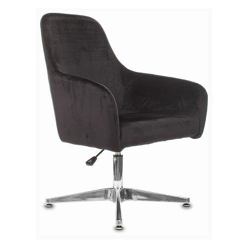 Кресло БЮРОКРАТ CH-390, на ножках, ткань, черный [ch-390/black] кресло офисное персона persona доступные цвета обивки искусств чёрная кожа
