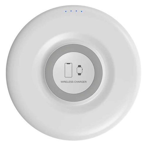 Фото - Беспроводное зарядное устройство Lyambda, USB, USB type-C, 1.5A, белый беспроводное зарядное устройство upvel uq tt01 usb 1 5а черный