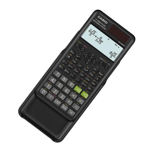 Калькулятор CASIO FX-85ESPLUS-2-SETD, 10+2-разрядный, черный