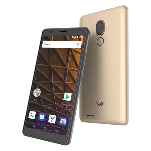 цена на Смартфон VERTEX Impress Pluto 4G 8Gb, золотистый