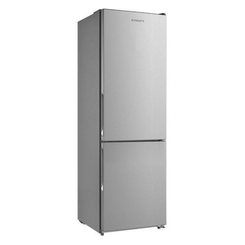 Холодильник KRAFT KF-NF 300 X, двухкамерный, нержавеющая сталь