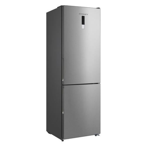 Холодильник KRAFT KF-NF 310 XD, двухкамерный, нержавеющая сталь