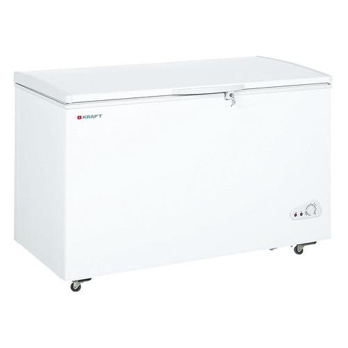 Морозильный ларь KRAFT BD(W) 425 QX белый цена и фото