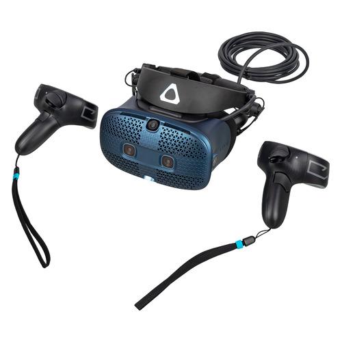 Фото - Шлем виртуальной реальности HTC Vive Cosmos, черный/синий [99harl027-00] шлем виртуальной реальности htc vive cosmos elite черный