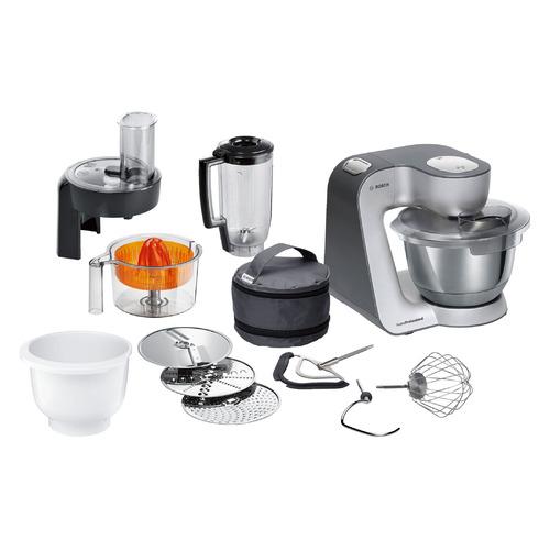 Кухонный комбайн BOSCH MUM59343, белый/серебристый