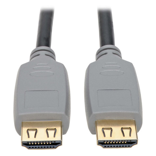Фото - Кабель аудио-видео TRIPPLITE P568-006-2A, HDMI (m) - HDMI (m) , ver 2.0, 1.8м, GOLD черный/серый кабель аудио видео tripplite hdmi m hdmi m ver 2 0 1 8м gold черный [p569 006 cert]