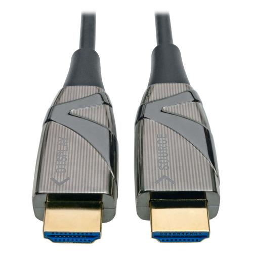 Фото - Кабель аудио-видео TRIPPLITE HDMI (m) - HDMI (m) , ver 2.0, 100м, GOLD черный, катушка [p568-100m-fbr] футболка мужская mother russia сусанин цвет черный фу000000322 размер m 48