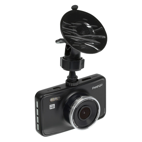 Видеорегистратор PRESTIGIO RoadRunner 420DL, черный [pcdvrr420dl] стоимость