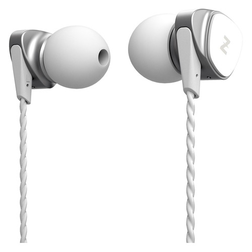 Наушники с микрофоном MUSICDEALER XS, 3.5 мм, вкладыши, белый [zmdh-xsw]