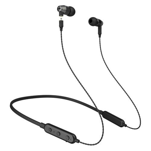 Наушники с микрофоном MUSICDEALER S BT, 3.5 мм/Bluetooth, вкладыши, черный [zmdh-sb-bt]