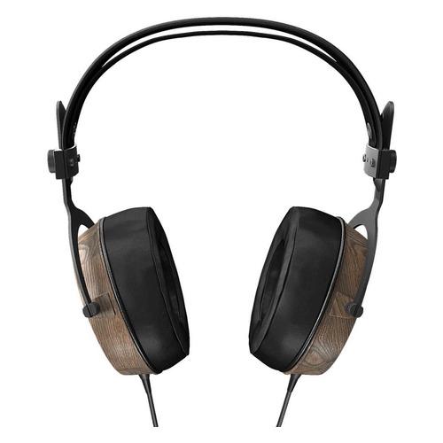 Наушники MUSICDEALER XXL, 3.5 мм, накладные, черный/коричневый [zmdh-xxl] цена и фото