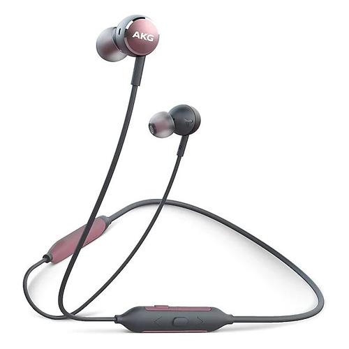 Наушники SAMSUNG AKG Y100, Bluetooth, вкладыши, розовый/черный [gp-y100hahhbaa - promo] профессиональные студийные наушники akg k240 studio 2058x00130