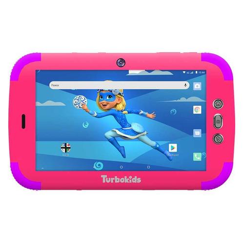 Детский планшет TURBO TurboKids Princess 16Gb, Wi-Fi, 3G, Android 8.1, розовый [pt00020521]