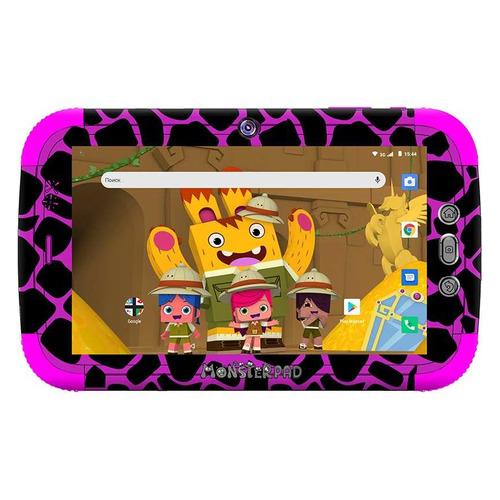 Детский планшет TURBO TurboKids Monsterpad 2 16Gb, Wi-Fi, 3G, Android 8.1, черный [pt00020519]