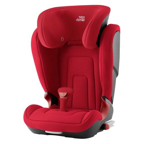 Автокресло детское BRITAX ROEMER Kidfix2 R, 2/3, от 4 до 12 лет, красный