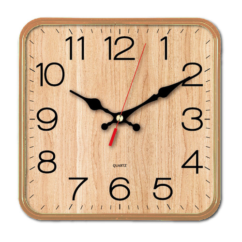 Настенные часы БЮРОКРАТ WallC-S62P, аналоговые, бежевый