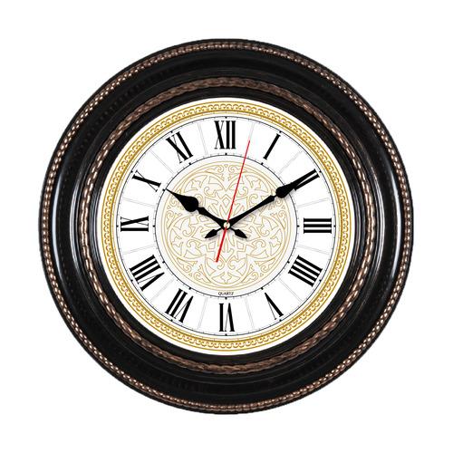 Настенные часы БЮРОКРАТ WallC-R68P, аналоговые, коричневый