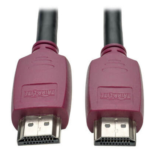Кабель аудио-видео TRIPPLITE HDMI (m) - HDMI (m), ver 2.0, 4.5м, GOLD черный [p569-015-cert]  - купить со скидкой