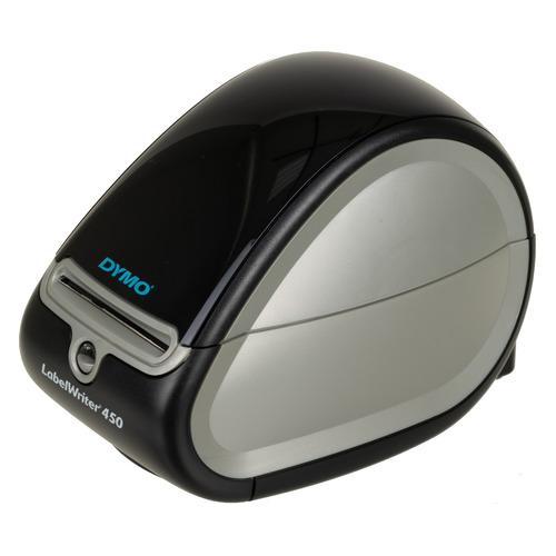 Фото - Термопринтер Dymo LableWriter LW450 (для печ.накл.) стационарный черный/серебристый термопринтер zebra zt510 для печ накл стационарный серый серый