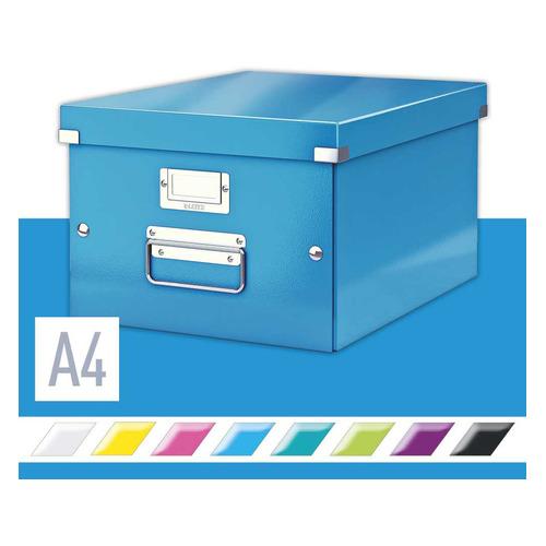 Короб для хранения LEITZ Click & Store, картон, синий [60440036]
