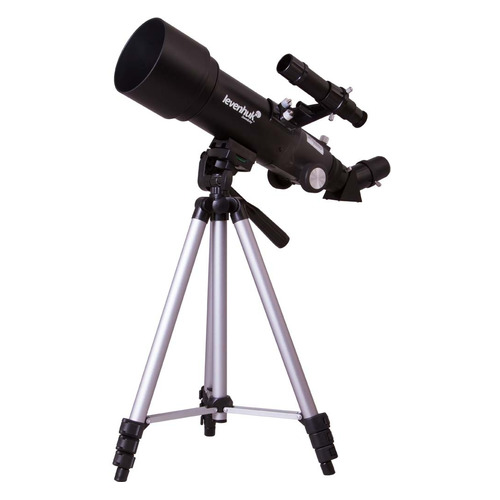 Телескоп Levenhuk Skyline Travel 70 рефрактор d70 fl400мм 140x черный цена и фото