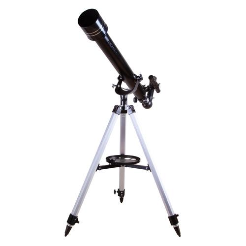Телескоп Levenhuk Skyline Base 60T рефрактор d60 fl700мм 120x черный цена и фото