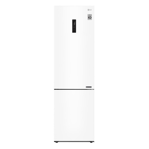 Холодильник LG GA-B509CQSL, двухкамерный, белый двухкамерный холодильник lg ga b 459 sqcl белый