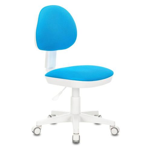 Кресло детское БЮРОКРАТ KD-3, на колесиках, ткань, голубой [kd-3/wh/tw-55]