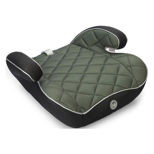 Бустер HAPPY BABY Rider, 2/3, от 3 до 12 лет, зеленый/черный группа 0 1 2 3 от 0 до 36 кг happy baby unix с подушкой на ремень сплюшка protectionbaby