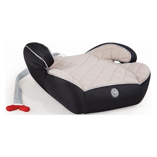 Бустер HAPPY BABY Rider, 2/3, от 3 до 12 лет, бежевый/черный группа 0 1 2 3 от 0 до 36 кг happy baby unix с подушкой на ремень сплюшка protectionbaby
