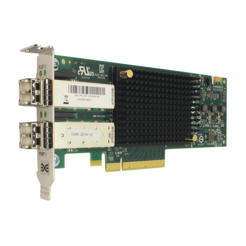 Фото - Контроллер LSI Emulex LPe32002-M2 HBA Dual Port 32Gb Fibre Channel HBA (LPE32002-M2) контроллер hpe h241 smart hba