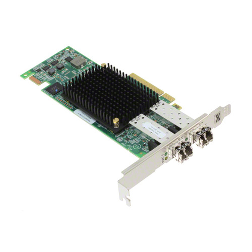 Фото - Контроллер LSI Emulex LPe16002B-M6 HBA PCIe 16 Gb 2-port Fibre Channel Adapter by (LPE16002B-M6) контроллер lsi emulex lpe32000 m2 hba port 32gb fibre channel hba lpe32000 m2