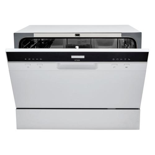 Посудомоечная машина HYUNDAI DT205, компактная, белая посудомоечная машина hyundai dt205 компактная белая