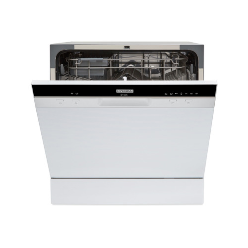 Посудомоечная машина HYUNDAI DT405, компактная, белая посудомоечная машина hyundai dt205 компактная белая