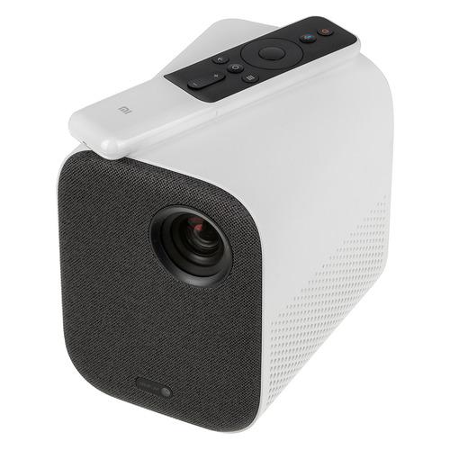 Фото - Проектор XIAOMI Mi Smart Compact Projector M055MGN, бело-серый, Wi-Fi [x24812] проектор xiaomi mi smart compact projector m055mgn бело серый wi fi [x24812]