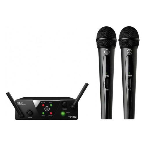 Радиосистема AKG WMS40 Mini2 Vocal Set BD US45A/C беспровод. черный