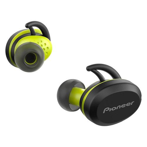 Гарнитура PIONEER SE-E8TW-Y, Bluetooth, вкладыши, желтый/черный гарнитура pioneer se cl6bt w bluetooth вкладыши белый