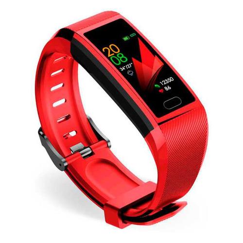 умный фитнес браслет zodikam tw64 2558 зеленый Фитнес-трекер SMARTERRA FitMaster 5, 1.14, красный / красный [smft-05rbl]