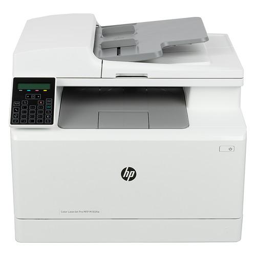 Фото - МФУ лазерный HP Color LaserJet Pro M183fw, A4, цветной, лазерный, белый [7kw56a] мфу лазерный hp color laserjet pro m479fnw a4 цветной лазерный белый [w1a78a]