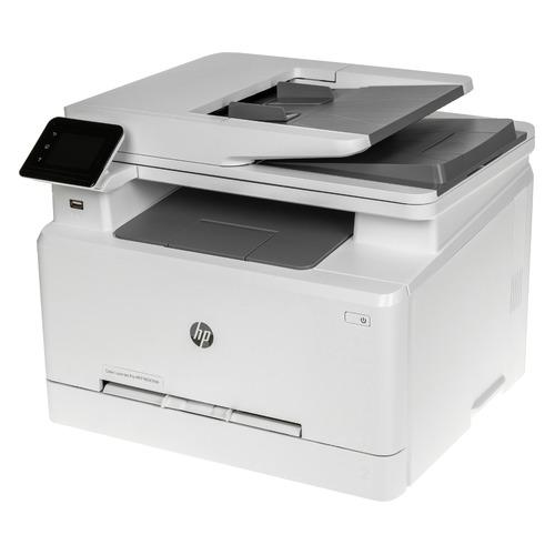 Фото - МФУ лазерный HP Color LaserJet Pro M283fdn, A4, цветной, лазерный, белый [7kw74a] мфу лазерный hp color laserjet pro m479fnw a4 цветной лазерный белый [w1a78a]