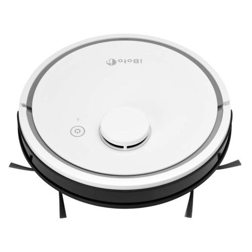 лучшая цена Робот-пылесос IBOTO Smart L920W Aqua, 25Вт, белый/черный