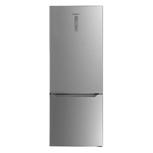 Холодильник KRAFT KF-NF710XD, двухкамерный, нержавеющая сталь