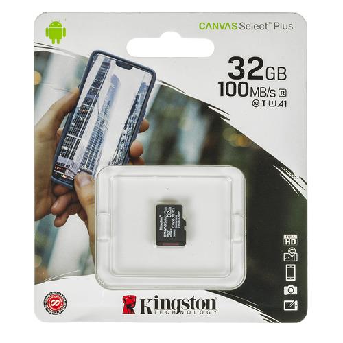 Фото - Карта памяти microSDHC UHS-I U1 KINGSTON CanvSelect Plus 32 ГБ, 100 МБ/с, Class 10, SDCS2/32GBSP, 1 шт. карта памяти microsdhc uhs i u1 silicon power 16 гб 85 мб с class 10 sp016gbsthbu1v10 1 шт