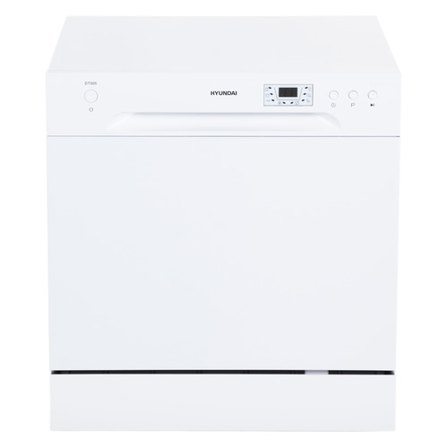 Посудомоечная машина HYUNDAI DT505, компактная, белая посудомоечная машина hyundai dt205 компактная белая