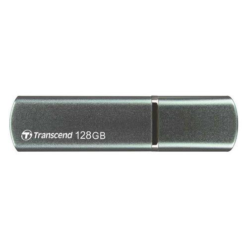 Фото - Флешка USB TRANSCEND Jetflash 910 128ГБ, USB3.1, темно-зеленый [ts128gjf910] 3908 gipfel форма для запекания majolica овальная 28х16х5 5см цвет темно зеленый материал жаропрочная керамика