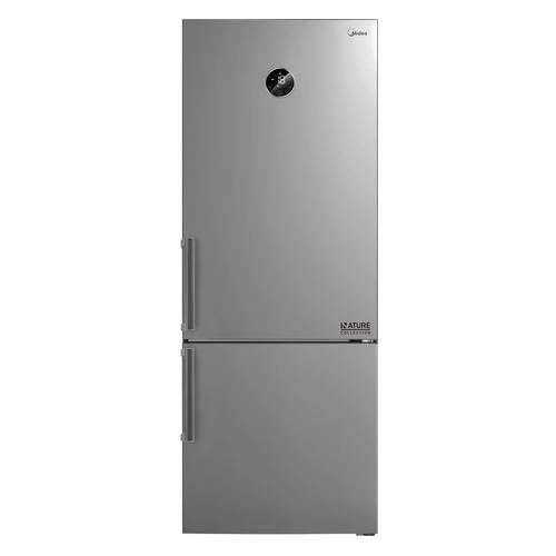Холодильник MIDEA MRB519WFNX3, двухкамерный, нержавеющая сталь