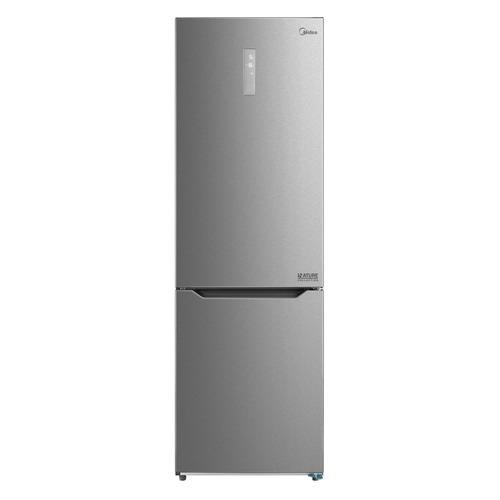 Холодильник MIDEA MRB519SFNX1, двухкамерный, нержавеющая сталь